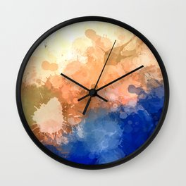 """Modern Contemporary """" Tranquility""""Abstract Wall Clock"""