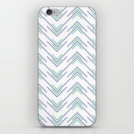 Sharp ZigZag Pattern iPhone Skin