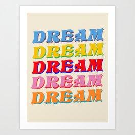 Everly Dream Art Print