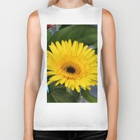 you are my sunshine Biker Tanks featuring Sunshine  by IowaShots