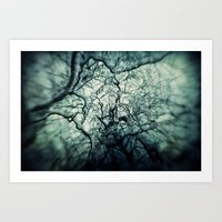 chaos Art Prints featuring Chaos by Sharon Johnstone