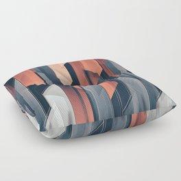 ABSTRACT 17a Floor Pillow