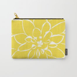 Dahlia Buttercup Carry-All Pouch