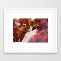 it crowd Framed Art Prints featuring Crowd by Jared Plock