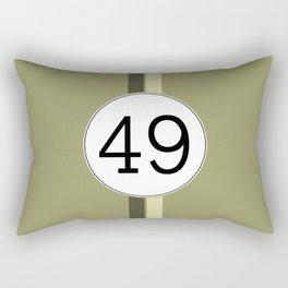 Rally 49 Rectangular Pillow