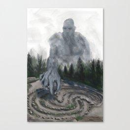 Jatulintarha Canvas Print