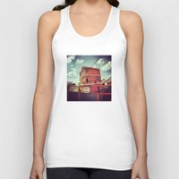 mexico Tank Tops featuring Mexico by wendygray