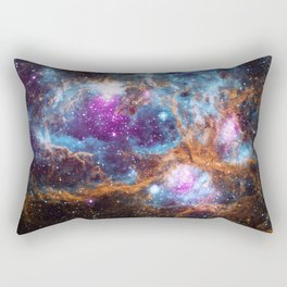 Nebula   Universe   Galaxies   Goddess   God   Stardust Rectangular Pillow