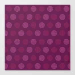 Dots and dots Canvas Print