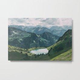 Seealpsee lake Metal Print