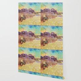 Beach Cruiser and Stars Wallpaper