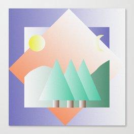 M A N Z A N E D A Canvas Print