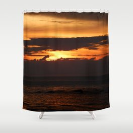 Sunset Shadows Shower Curtain