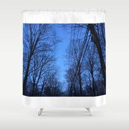 Twilight Zone Shower Curtain
