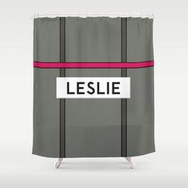 LESLIE | Subway Station Shower Curtain