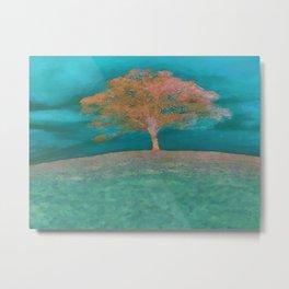 ABSTRACT - solitary tree Metal Print