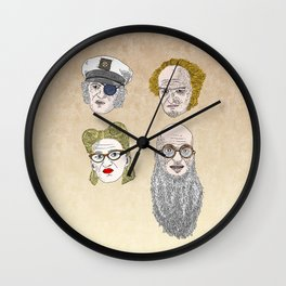 A Series of Unfortunate Events' Count Olaf Wall Clock