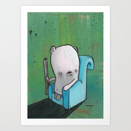 Creak Art Print
