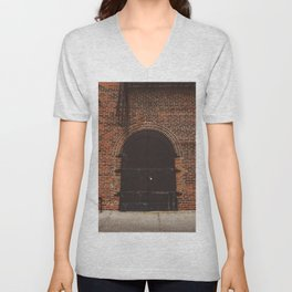 Brooklyn Door III Unisex V-Neck