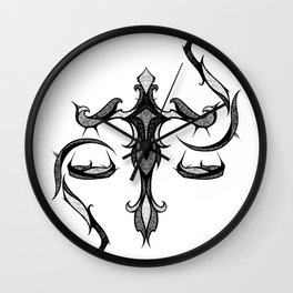 Signs of the Zodiac - Libra Wall Clock