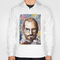 steve jobs Hoodies featuring Steve Jobs by Mariogogh