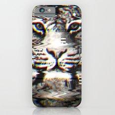 Tiger Glitch iPhone 6s Slim Case