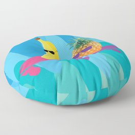 Skating duo Floor Pillow