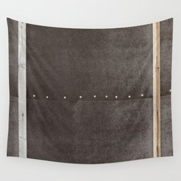 Cracked & Pinned Leather II (California) Wall Tapestry