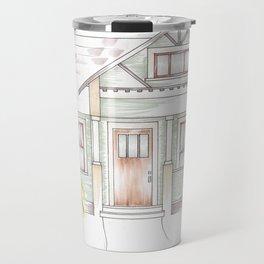 Green Craftsman Travel Mug