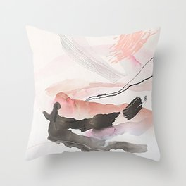 Day 25: The natural beauty of one thing leading to another. Throw Pillow
