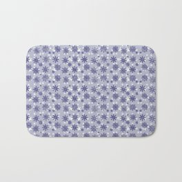 Winter Snowflakes Pattern Bath Mat