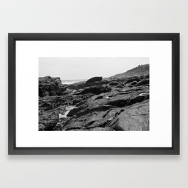Maine Coast #1 Framed Art Print