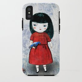 Blanca Bird iPhone Case