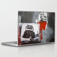 bigfoot Laptop & iPad Skins featuring Bigfoot by six inch stiletto