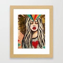 BE THE LIGHTHOUSE Framed Art Print