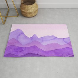Purple Mountains Rug