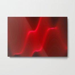 Red vibes Metal Print