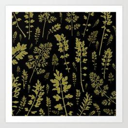 parsley forest Art Print