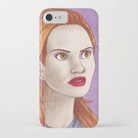 lydia martin iPhone & iPod Cases featuring Lydia Martin by billa