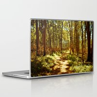 neverland Laptop & iPad Skins featuring Neverland by Mike Shaheen