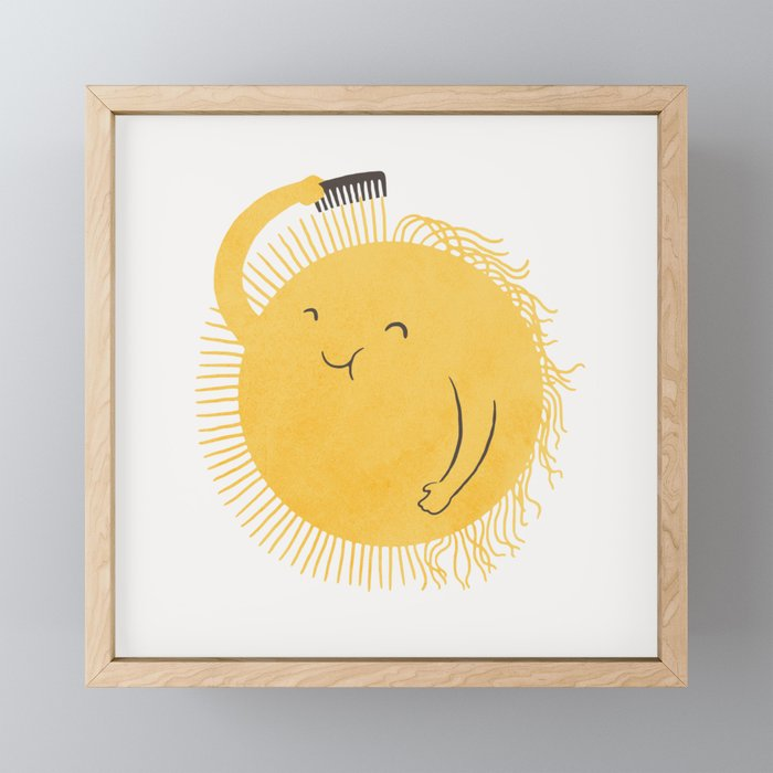 Good Morning, Sunshine Framed Mini Art Print
