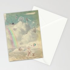 Fantastic country in the sky Stationery Cards