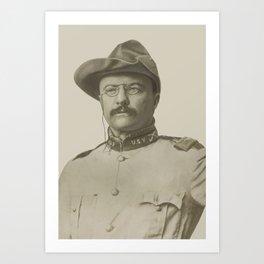 Colonel Theodore Roosevelt Art Print