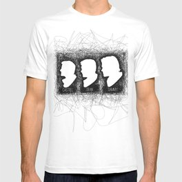 Supernatural Castiel, Dean, Sammy T-shirt