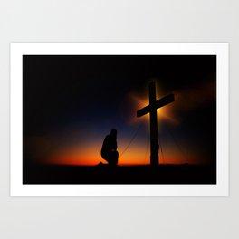 Christian Faith Art Print