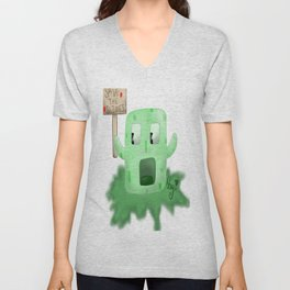 Save Those Slimes! Unisex V-Neck