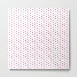 A to Z(iggy) pattern Metal Print