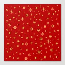 Merry Christmas pattern 1 Canvas Print