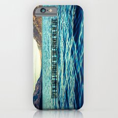 Love is like a lifeboat on the stormy sea of life. iPhone 6s Slim Case