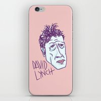 lynch iPhone & iPod Skins featuring DAVID LYNCH by Josh LaFayette
